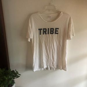 Tops - TRIBE  slightly distressed graphic tee